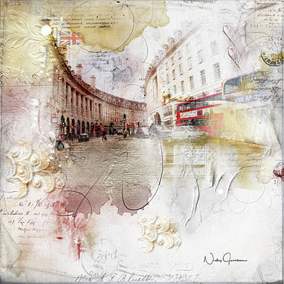 Digital Art - London Regency by Nicky Jameson