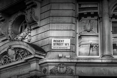 Photograph - London Regent Street by Georgia Fowler
