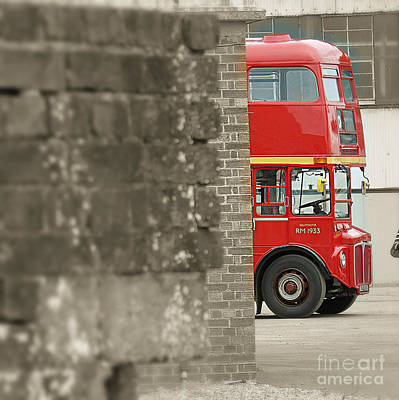 New Years Ever Photograph - London Routemaster by Timothy Morgan