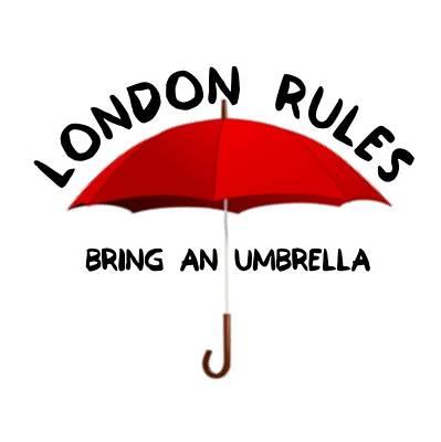 Digital Art - London Rules  by FirstTees Motivational Artwork