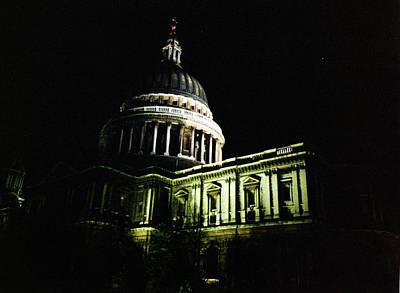 Photograph - London Saint Paul's Cathedral 1 1996 by Erik Paul