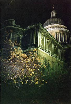 Photograph - London Saint Pauls Cathedral 2 1996 by Erik Paul