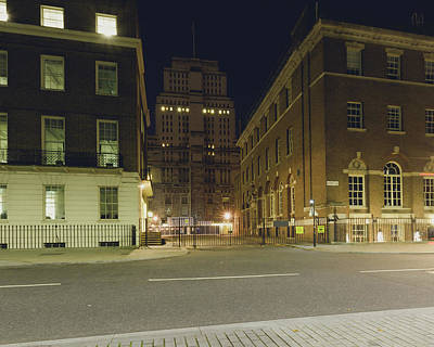 Photograph - London Senate House Library By Night by Jacek Wojnarowski