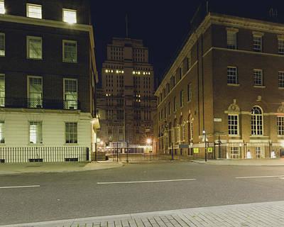 Photograph - London Senate House Library By Night by Jacek Wojnarowski