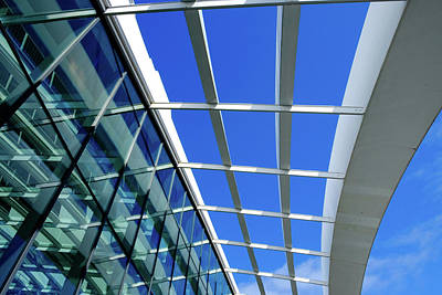 Photograph - London Sky Garden Architecture 2 by Judi Saunders