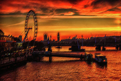 Photograph - London Skyline  by Cliff Norton