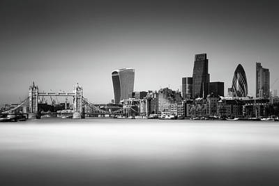 London Skyline Art Print by Ivo Kerssemakers
