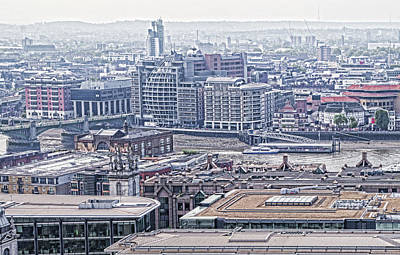 Photograph - London Skyline by Sharon Popek