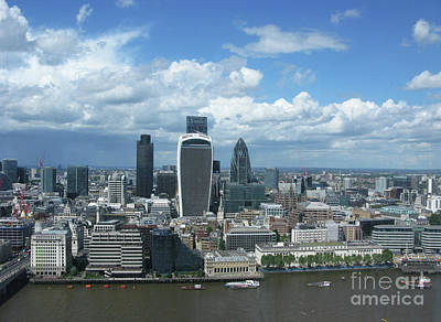Photograph - London Skyscrapers by Mini Arora