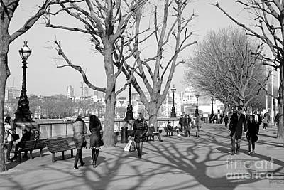 Photograph - London Southbank by Julia Gavin