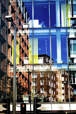 Photograph - London Southwark Architecture 2 by Judi Saunders