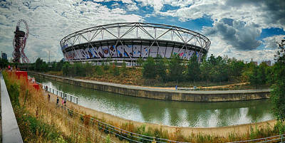 Photograph - London Stadium by David French