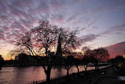 Photograph - London Sunset by Aidan Moran