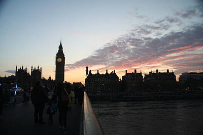 Photograph - London Sunset by Christopher Woods