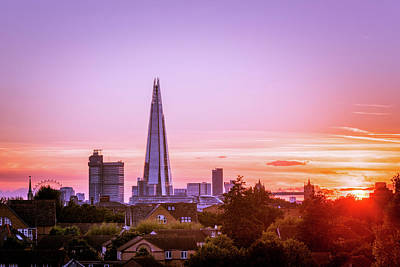 Photograph - London Sunset by Matt Malloy