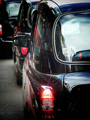 London Taxis  Art Print