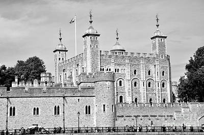 Photograph - London Tower by Andrew Dinh