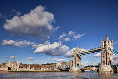 Photograph - London Tower Bridge by Colin and Linda McKie