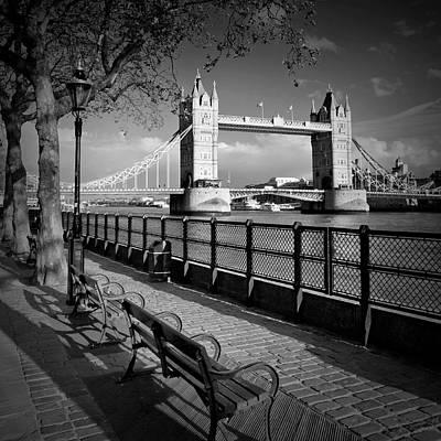 Gb Photograph - London Tower Bridge by Melanie Viola