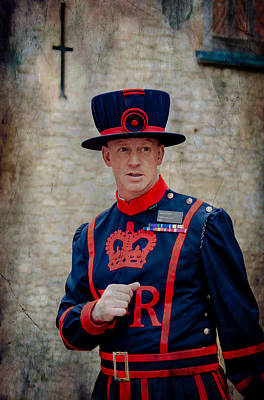 Photograph - London Tower Guard by Bill Howard