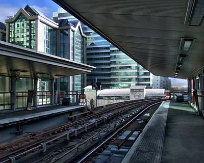 Photograph - London Train Station by Anthony Dezenzio