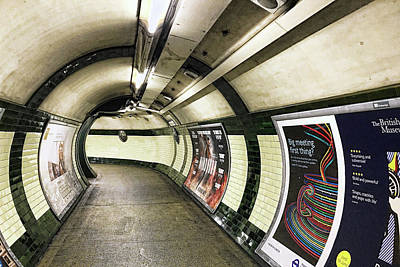 Photograph - London Tube by Nora Martinez