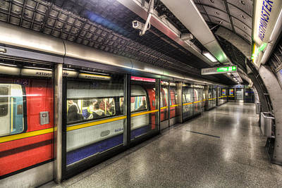 London Tube Photograph - London Underground by David Pyatt