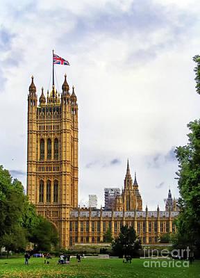 Photograph - London Westminster by Nina Ficur Feenan
