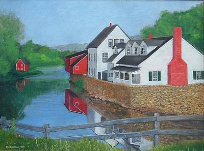 Londonderry Vermont Art Print by Fred Jinkins