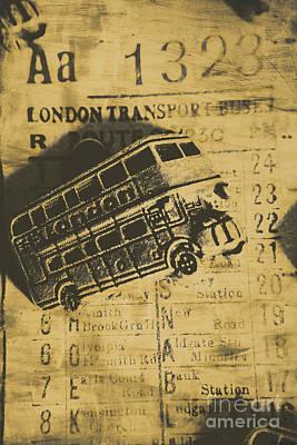 Vintage Car Photograph - Londoners Run by Jorgo Photography - Wall Art Gallery