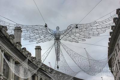 Photograph - London's Angel by Vicki Spindler