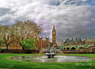 Photograph - London's Big Ben  by Nina Ficur Feenan