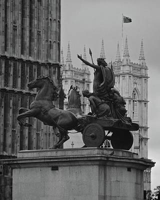 Photograph - London's Boadicea Statue by Matt MacMillan