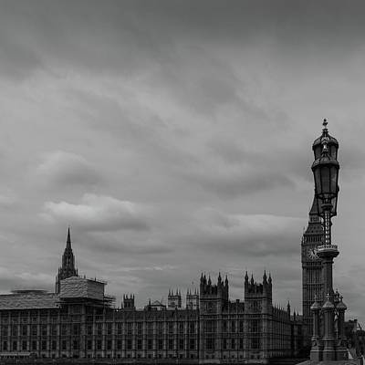 Photograph - London's Houses Of Parliament by Georgia Fowler