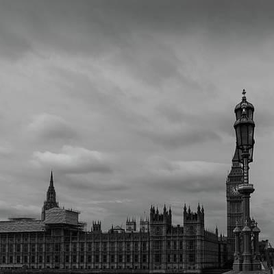 London's Houses Of Parliament Art Print by Georgia Fowler