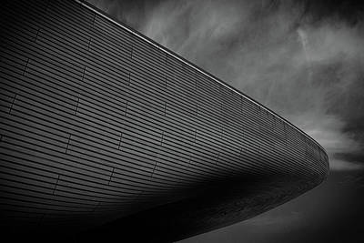 Stratford Photograph - London Olympic Aquatic Centre by Martin Newman
