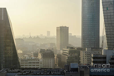 Photograph - London's Rooftops 2 by Perry Rodriguez