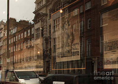 Photograph - London,window Reflections by Igor Kislev
