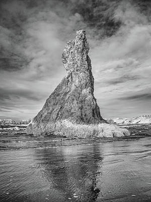 Photograph - Lone Bandon Spire In Infrared by Greg Nyquist