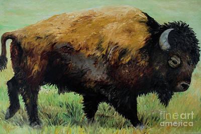 Lone Bison Original