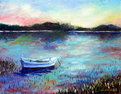 Painting - Lone Boat by David  Maynard
