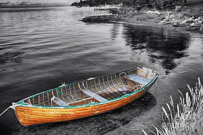 Photograph - Lone Boat  by Elaine Manley