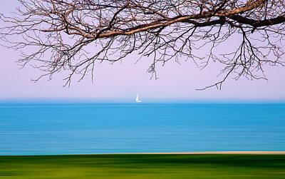 Photograph - Lone Boat by Milena Ilieva