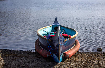 Photograph - Lone Canoe by Keith Elliott