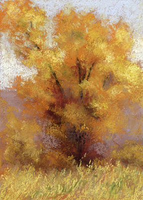 Painting - Lone Cottonwood by David King