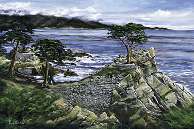 Painting - Lone Cypress by Lisa Reinhardt