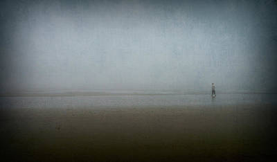 Photograph - Lone Figure by Christopher Rees