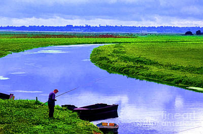 Photograph - Lone Fisher by Rick Bragan