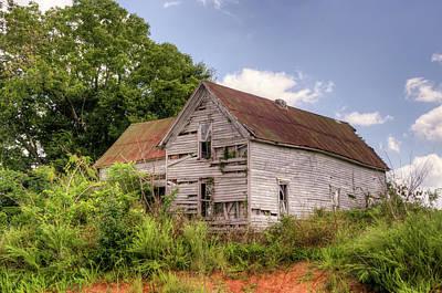 Photograph - Lone House On The Hill by Douglas Barnett