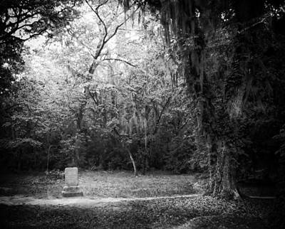 Haunted Photograph - Lone Marker by Sean Dorazio